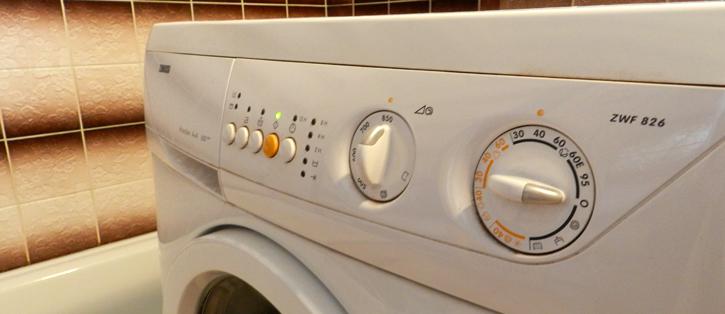 Nastavení pračky jsem se pokusil vybrat nějak univerzálně pro všechno prádlo.